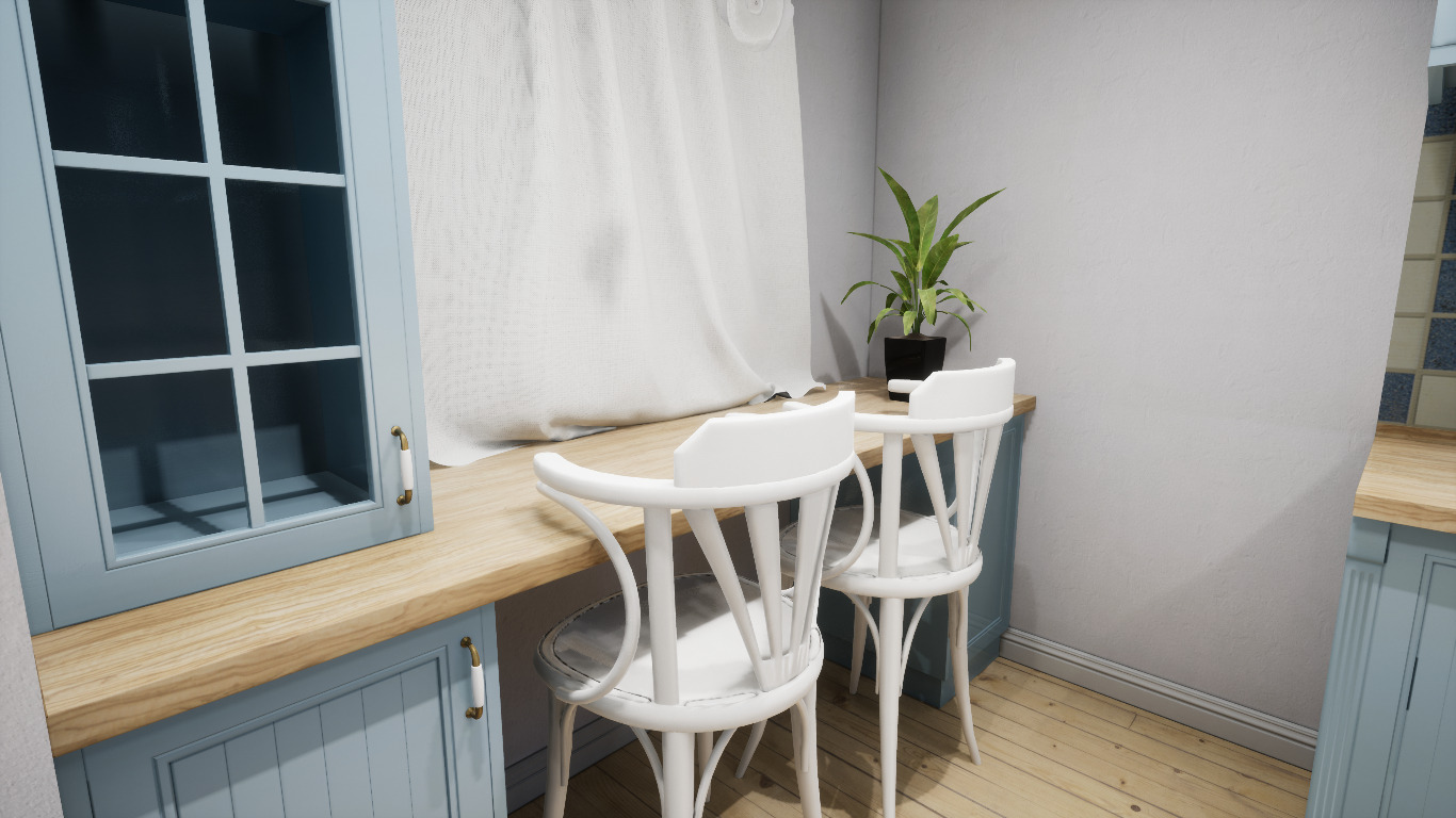 Cabinet model room