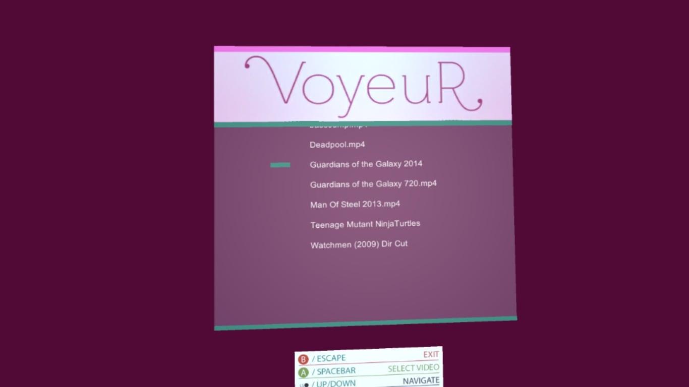 VoyeuR VR