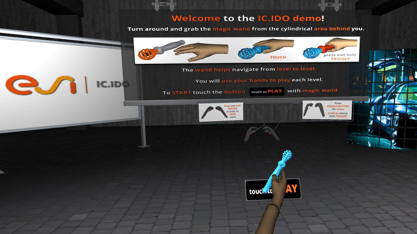 IC.IDO | Work meets Play - Virtual Integration Demo