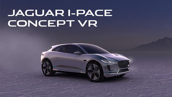 Jaguar I-PACE Concept VR