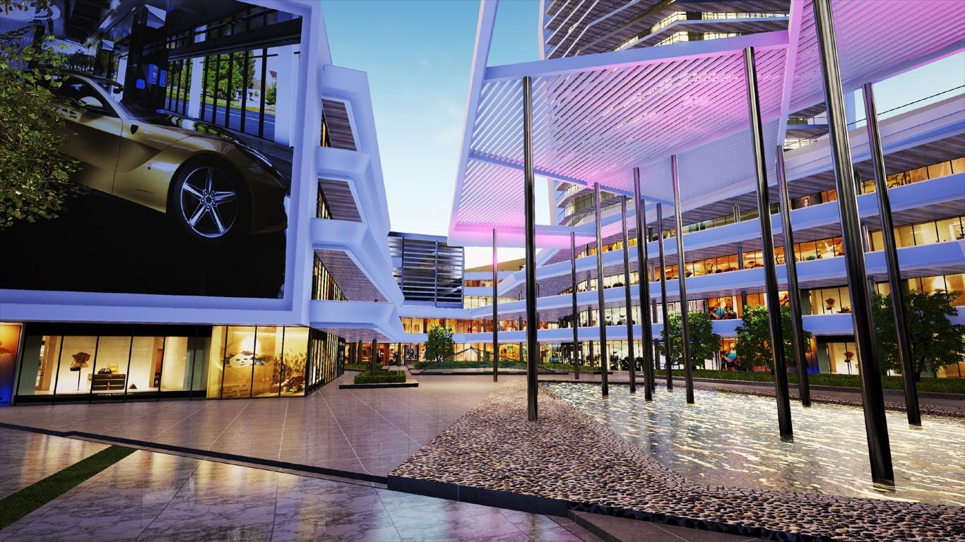 yuejing shopping mall VR
